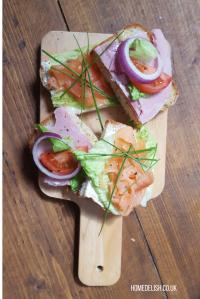 Open sandwiches kanapka