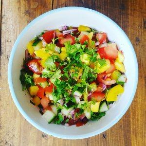 Chunky Mango Salsa by Home Delish
