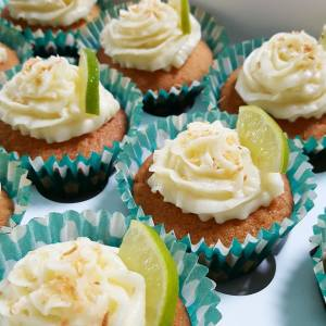 Coconut Lime Cupcakes by Home Delish
