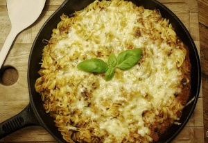 Tuna Pasta Bake for grown ups by Home Delish