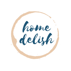 Home Delish Round logo