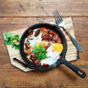 Breakfast Baked Eggs